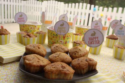 muffins pralines