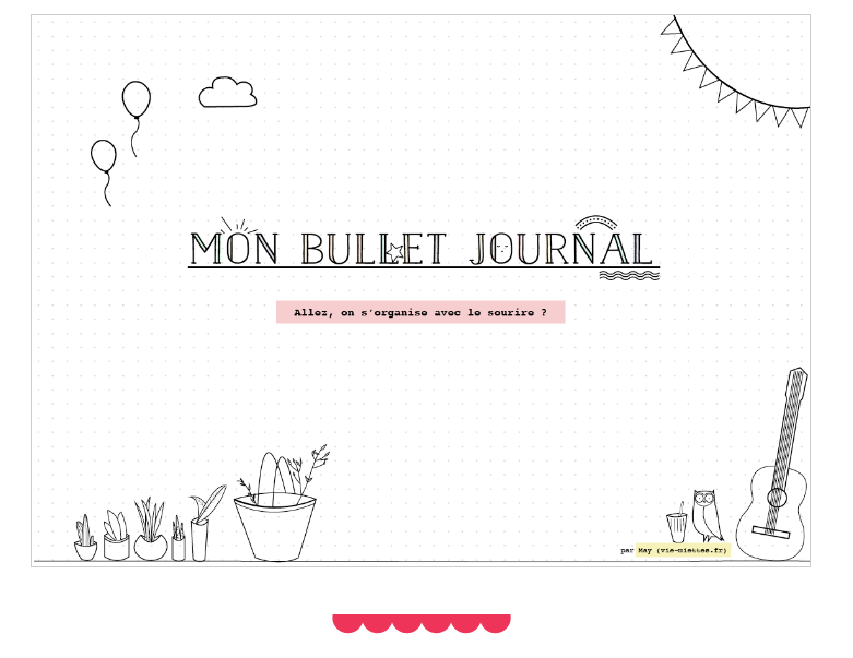 Bullet Journal explications
