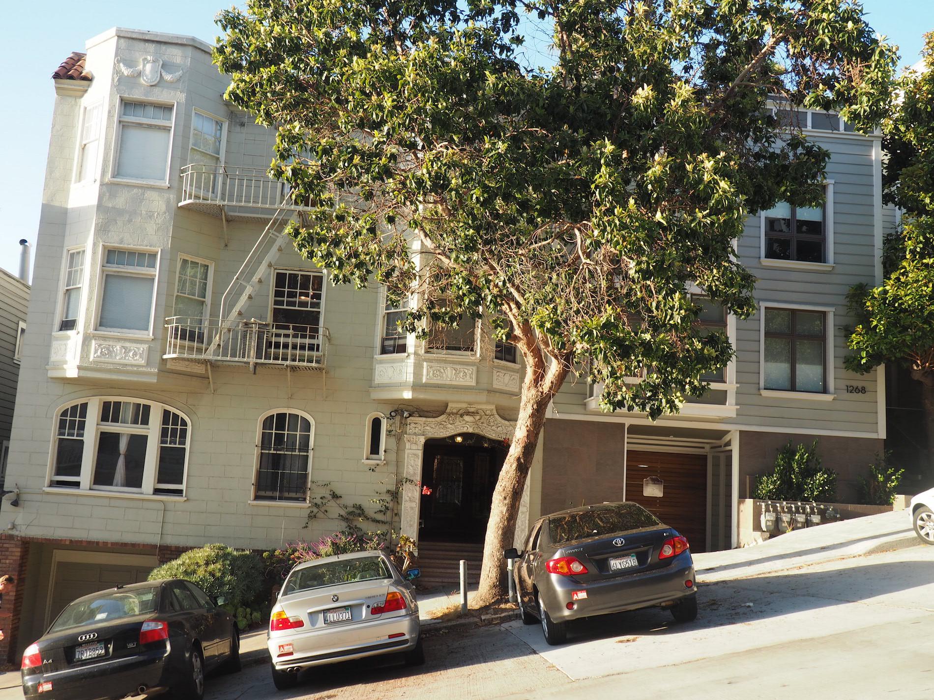 SanFrancisco-Lombard Street